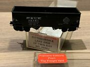 N Scale Premiere Editions Pittsburgh And Lake Erie 33' Twin Bay Hopper 2650j Pandle