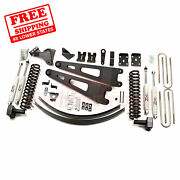 Zone 6 Front And Rear Radius Arm Suspension Lift Kit Fits Ford F350 4wd 2008-10