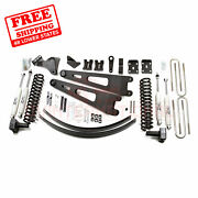 Zone 6 Front And Rear Radius Arm Suspension Lift Kit Fits Ford F350 4wd 2008-2010