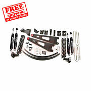Zone 6 Front And Rear Radius Arm Suspension Lift Kit For Ford F350 4wd 2008-2010