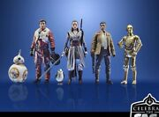 Nwb Star Wars Celebrate The Saga The Resistance Collectible 6 Action Figure Set