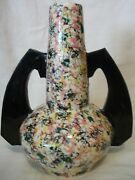 1960and039s U.s.s.r. Lithuania Clay Art Pottery Vase By Olga Ozolins