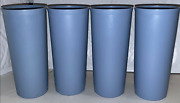 Tupperware Stacking Tumblers 16,12, 9 Oz Southwestern Country Pastel Blue New