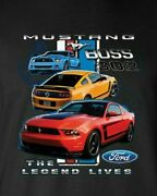 Ford Mustang The Legend Lives Ladies Womens Small-4 X Large Ladies Tank Tops