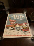 The 1975 Andlsquo19 Concert Tour Poster Chicago United Center Signed Numbered By Artist