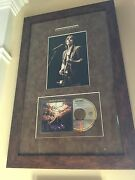 Jackson Browne Autographed / Signed Running On Empty Cd And Tour Photo Framed
