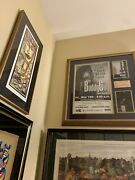 Buddy Guy Autographed / Signed Concert Poster W/ Ticket And Photos - Rockford Show