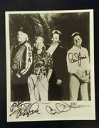 Beach Boys Autographed Signed 8x10 Photo From Late 80and039s One Of A Kind
