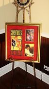 Guns N Roses - Slash - Use Your Illusion Autographed And Signed Cd Photo Display