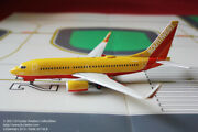 Gemini Jets Southwest Airlines Boeing 737-700w Mustard Color Diecast Model 1200