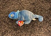 1 90andrsquos Collectible Toy - Vintage 1997 Ty Beanie Babies Rainbow The Chameleon