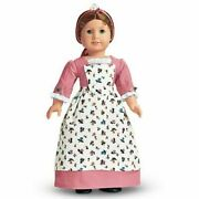 Retired American Girl Felicity's Spring Pinner Gown Birthday Outfit Pink Dress