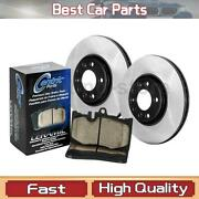 Centric Parts 3x Front Disc Brake Pad Set Disc Brake Rotor For 1995-2002 Gmc