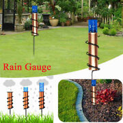 Floating Copper Rain Gauge Outdoor Accurate Rainfall Measuring Tool For Garden