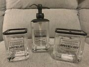 Hotel Balfour Dr.h.gnadendorff Apothecary Soap Pump/glass Cup/toothbrush Bath