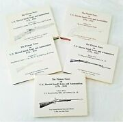 All Five Volumes Of The Pitman Notes On U.s. Small Arms And Ammunition 1776-1933