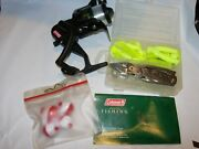 New Fishing Reel Coleman Outfitter And Misc Sporting Goods Childs Tackle Bobbers