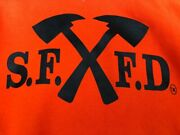 Sffd San Francisco Fire Department Crossed Axes Hoodie