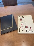 Lot Of 2 1958 1959 Fort Hays Kansas State College Yearbook Reveille Tigers