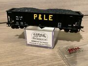 N Scale Atlas 90 Ton Pandle Hopper 32963 Pittsburgh And Lake Erie 80014