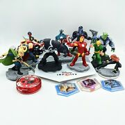 Disney Infinity 2.0 Lot Of 10 Marvel Figures Base And Extras