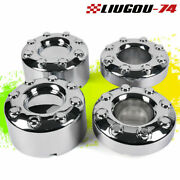 Fit For 05-16 Ford F-350 F350 Dually Wheel Chrome Center Caps Set 4x4 Frontandrear