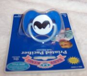 New Pacifier Mustache Accessory For Baby Or Luvabeau Boy Doll 0+ Size No Doll