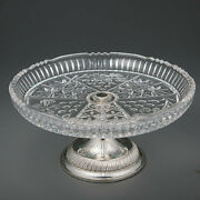 Crystal Candy Fruit Bowl Lefard Decorative Center Decor China Round Collectibles