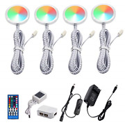 Aiboo Rgbw Rgb + White Color Changing Christmas Xmas Under Cabinet Led Lights Ir