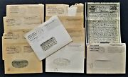 Lot 1944 Antique Wwii 10pc Vmail Bridgewater Ma Love Letters Soldier Fr Robinson