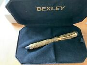 Bexley Ebonite Collection Amber Agate Fountain Pen New And Boxed