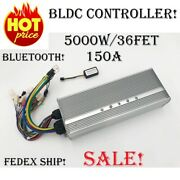 96-120v 5kw Bldc Motor Controller Programmable 36 Mosfet For Electric Motorcycle