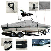 Yamaha 210 Ar With Wakeboard Tower Trailerable Ski Boat Storage Cover 2006-2011
