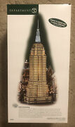 Rare Dept 56 Christmas In The City Village Empire State Building 59207