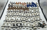 Authentic Lego Star Wars Clone Trooper 100 Minifigure Army Lot With Blasters