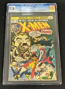 Uncanny X-men 94 Cgc 7.0 2nd Storm Nightcrawler Colossus Ow Pages 1975 Marvel