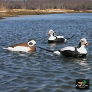New Avery Greenhead Gear Ghg Commercial Grade Long-tail Oldsquaw Sea Duck Decoys