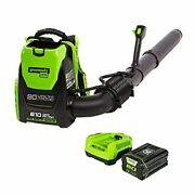 80 Volt Leaf Blower Backpack Battery Powered Kit And With Charger Included Best