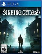 Ps4 The Sinking City - Sony Playstation 4 Brand New