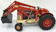 Vintage Ford 4000 Hd Industrial Tractor Battery Operated - For Parts / Repair