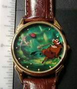 Rare Fossil Ds-150 Disney Lion King Mickey Mouse Character Watch Lot