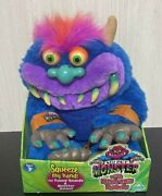 My Pet Monster With Elctronic Sounds Toy Max Plush Toy 2001 Talking With Box
