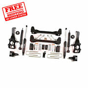 Zone 6 Front And Rear Suspension Lift Kit For Ford F150 2wd 2009-2013