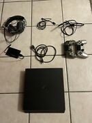 Ps4 Pro, 2 Controllers, All Cables, 2tb External Hard Drive, Headset With Mic.
