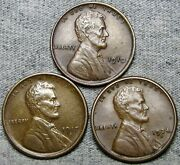 1910 1917-s 1924-s Lincoln Cent Wheat Penny ---- Nice Lot ---- R616