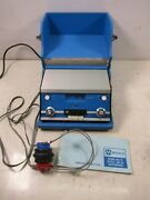 Audiometer Hearing Tester Maico Instruments Ma-19 With Headphones Portable Lab