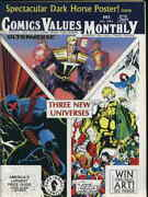 Comics Values Monthly 83 Vg Attic | Low Grade Comic - Save On Shipping - Detai