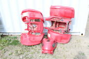 2004 Yamaha Grizzly 660 Front Rear Red Fender Kit Tank Cover 5km-w2151-10-00