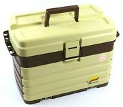 Plano Model 758 Large Tackle Box With Top Compartment And 4 Lure Drawers