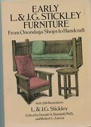 Early L. And J.g. Stickley Furniture From Onondaga Shops To Handcraft-book-1992